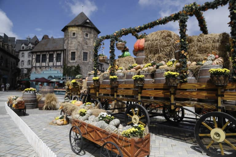 Halloween Festival in Sun World Ba Na Hills